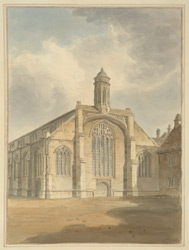 North West View of the Church of St Michael le Belfry, York